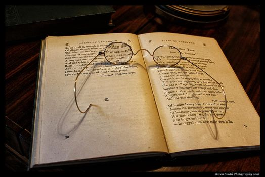 Old Book and Glasses by AaronSmith87