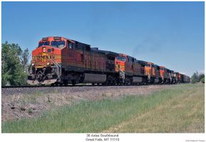 36 Axles Southbound by hunter1828