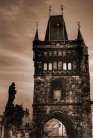 Entrance Tower at Charles Bridge04 by abelamario