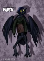 Finch colored by Bilious