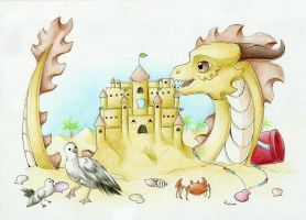 + 21 - The King of The Sand Castle + by DarkHeart-Nightmare