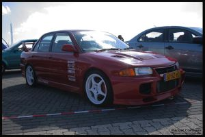 1995 Mitsubishi Lancer Evo III by compaan-art