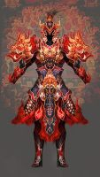 Flame armor by vega218