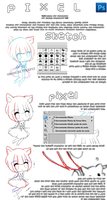 Easy PIXEL-ART without experience TUTORIAL. by Kyuribin