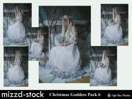 Christmas Goddess pack 6 by mizzd-stock