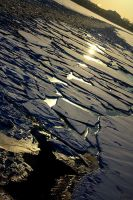 Sun in ice. by Noiriel