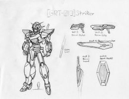 GRT-013 Gundam Striker by Linkinpark30101