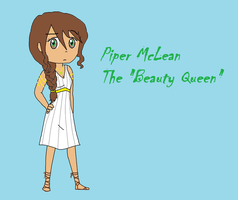 Piper McLean AKA Beauty Queen by MissySerendipity