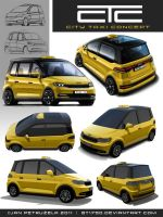 City Taxi Concept V2 Exterior by gt1750