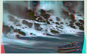 Niagara on the Falls 3-D :: HDR by Raw :: Anaglyph by zour