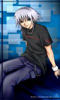 Riku in Skater attire by gemiange