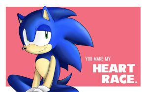 2014Valentines::  Sonic by BoopBear