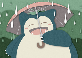 My Neighbor Snorlax by icycatelf
