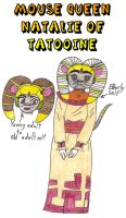 Clever Wars - Mouse Queen Natalie of Tatooine by Magic-Kristina-KW