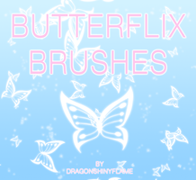 WINX: Butterflix Brushes by DragonShinyFlame