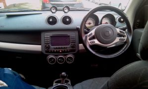 Smart Forfour interior by mikey-aofw
