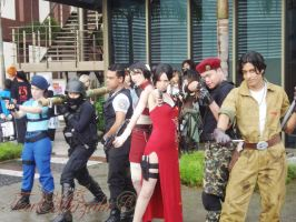 Resident Evil Group - 3 by TeaMazaki