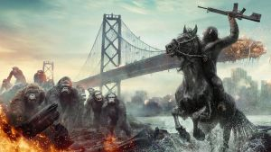 Dawn of the Planet of the Apes Wallpaper 1920x1080 by sachso74