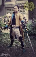 Basara Cosplay: The Right Eye of Dragon by SawaKun