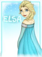 Elsa the snow queen by beauvb
