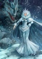 Snow Queen by Meoon