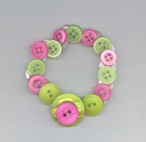 Funky Button Bracelet by RyuuseiHime