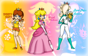 Themes for Three Princesses by Samthelily