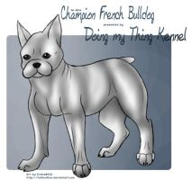 Commission: French Bulldog by tailfeather
