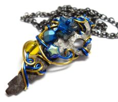 Passage Necklace no. 187 by sojourncuriosities