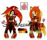 Sonic Fire Element adoptables CLOSED by Sonic--Adoptablez