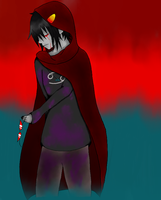 Sad Karkat 2 by JadenxJesseFan