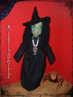 Gothic Witch Roma by DollzMaker