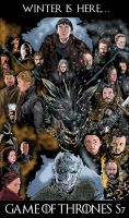 Game of Thrones Season 7 poster by mrinal-rai
