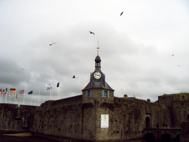 Concarneau, vieille ville. II by raiining-day