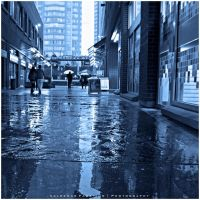 Rainy Day Blues II by Val-Faustino