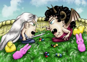DF Easter Contest Entry by dragondoodle