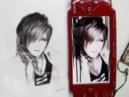 Uruha-the GazettE by Mahuyu
