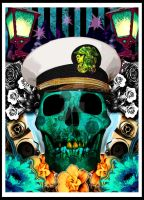 Skull Poster OG by Rustypanther