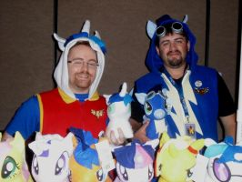 GBG 2: Shining Armor and Soarin by NaturesRose