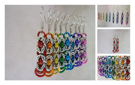 Rainbow II by S-Chainmaille