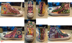 Abstract Shoes by zombiecatfire13