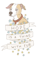 Hope With Fur by tinylaughs