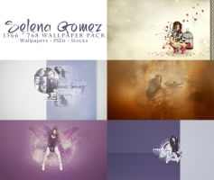 [PSD] Selena Gomez Wallpaper Pack by SammyYun