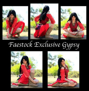 Exclusive gypsy by faestock