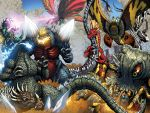 Godzilla Ongoing 11-12 Full Battle! by KaijuSamurai
