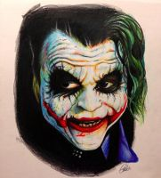 Joker by ChrisHerreraArt
