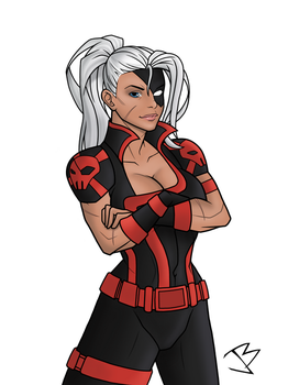 Rose Wilson Ravager by THE-GREAT-ULTRON