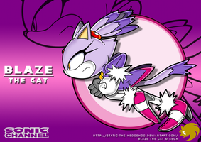 Sonic Channel: Blaze by Fuzon-S