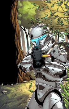 Republic Commando Colored by ragelion