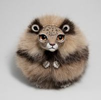 Leopard Furry Creature by RamalamaCreatures